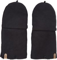 Mackage Black Lennon Convertible Gloves