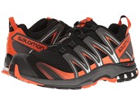 Salomon Xa Pro 3D Black Dark Cloud Tomato Red Men's Shoes