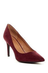 14Th And Union Pointed Toe Heel Red