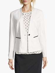 Betty And Co. Summer Blazer Off White