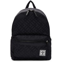 Versace Navy Greek Drawing Backpack