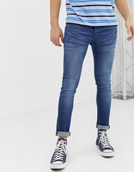 Loyalty And Faith Super Skinny Fit Jeans In Midwash Blue