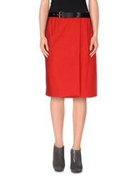 Moschino Couture Knee Length Skirts