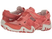 Allrounder By Mephisto Firelli Burnt Orange Dye Washed Women's Shoes Pink