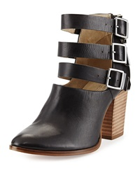 Seychelles Haywire Ankle Wrap High Heel Bootie Black