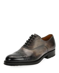 Bally Luthar Injected Sole Oxford Gray