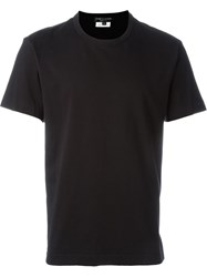 Comme Des Gara Ons Homme Plus Cut Out T Shirt Black
