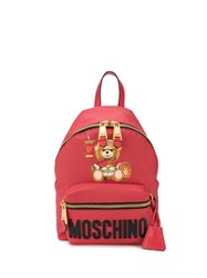 Moschino Teddy Bear Backpack Red