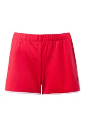 Tommy Hilfiger Scallop Shorts Red