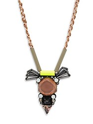 Nocturne Andrea Crystal Chain Necklace Multi