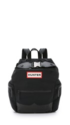 Hunter Nylon Mustache Backpack Black