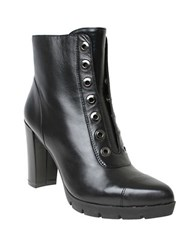 William Rast Carly Grommet Ankle Boots Black
