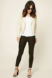 Forever 21 Contemporary Metallic Leggings