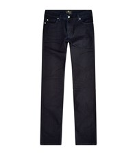 7 For All Mankind Ronnie Luxe Performance Skinny Jeans Male Navy