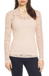 Rosemunde Women's Delicia Long Sleeve Top Soft Ivory