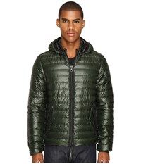 Duvetica Troilo Quilted Down Hooded Jacket Foresta