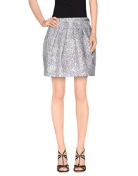 Alice San Diego Skirts Mini Skirts Women Silver