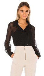 Elliatt Cuba Blouse In Black.