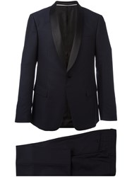 Z Zegna Two Piece Dinner Suit Blue