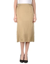 Laura Urbinati 3 4 Length Skirts Khaki