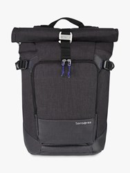 Samsonite Ziproll Recycled Laptop Backpack Shadow Blue