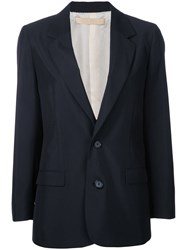 Cityshop Two Button Blazer Women Polyester Wool 36 Black