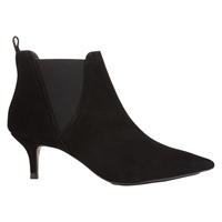 Whistles Oregan Kitten Heel Boots Black
