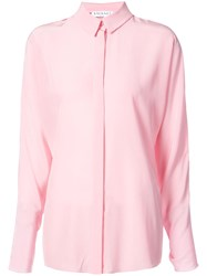 Vionnet Two Tone Shirt Pink And Purple