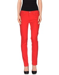 Ag Adriano Goldschmied Trousers Casual Trousers Women Red