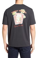 Men's Big And Tall Tommy Bahama 'Tropical O' Aces' Graphic Crewneck T Shirt