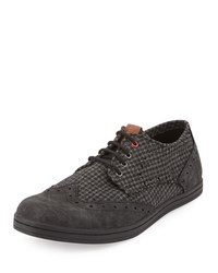Ben Sherman Nick Canvas Suede Sneaker Grey 01G