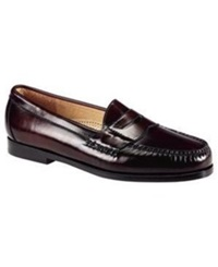Cole Haan Pinch Penny City Moc Toe Loafers Men's Shoes Burgundy