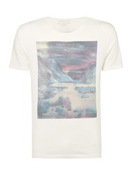Label Lab Desert Valley Graphic Tee Off White