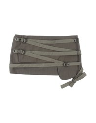 Barbara Bui Belts Military Green