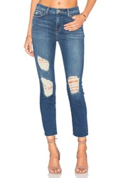 L'agence Marcelle Slim Fit Jeans Authentique Distressed