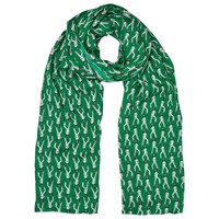 Whistles Cowgirl Print Scarf Green Multi