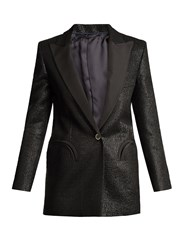 Blaze Milano Moonfleet Everyday Textured Blazer Black