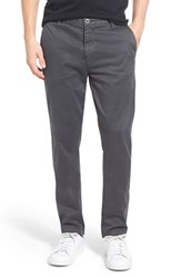 Men's Original Paperbacks 'Richmond' Chino Pants Gunmetal