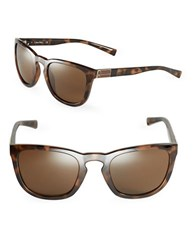 Calvin Klein 50Mm Square Sunglasses Brown