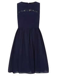 Dorothy Perkins Showcase Insert Prom Dress Blue