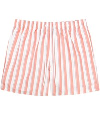 Reiss Flint Striped Swim Shorts In Soft Pink