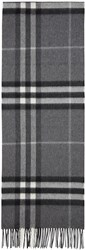 Burberry Grey Check Giant Icon Scarf