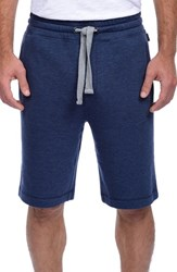 2Xist Men's 2 X Ist Terry Shorts Denim Heather