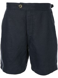 Venroy Side Tab Shorts Blue