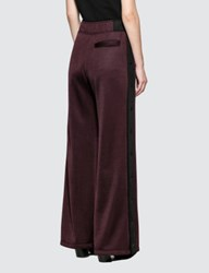Alexander Wang Sleek French Wide Leg Pant With T Detail