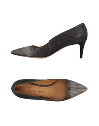 Eva Turner Pumps Grey