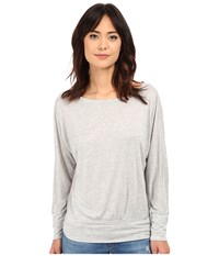 Lanston Boyfriend Sweatshirt Heather Women's Sweatshirt Gray