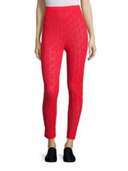 A Detacher Rose Crochet Pants