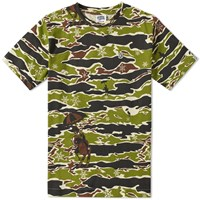 Billionaire Boys Club Allover Print Tee Green