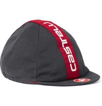 Castelli Retro 3 Cotton Twill Cycling Cap Charcoal